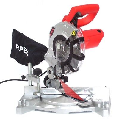 55123 High Performance 1400W Compound Mitre Saw 210mm Chop Saws Corded