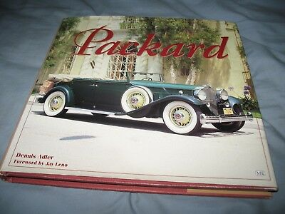 Packard, book by Dennis Adler, foreword by Jay Leno - Superb marque history