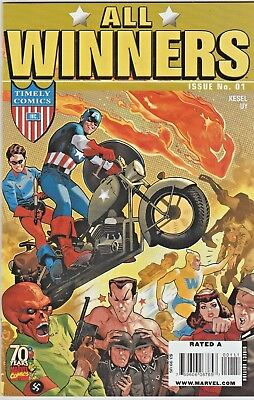 All Winners Comics 70th Anniversary Special #1 Golden-Age Reprint in NM Oct.2009