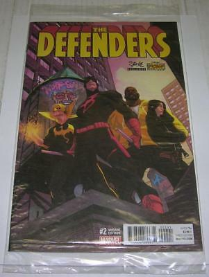 DEFENDERS #2 RARE STAN LEE BOX VARIANT SEALED (Marvel 2017) NIGHT NURSE (VF+)