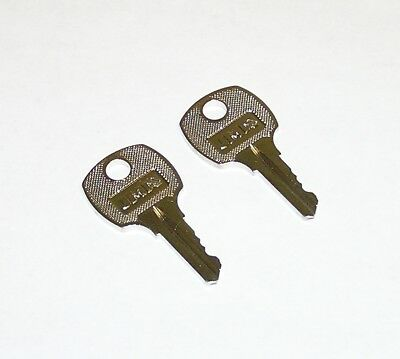2 - NSR251 Keys fit Square D National Electrical Breaker Panel Panelboard Locks