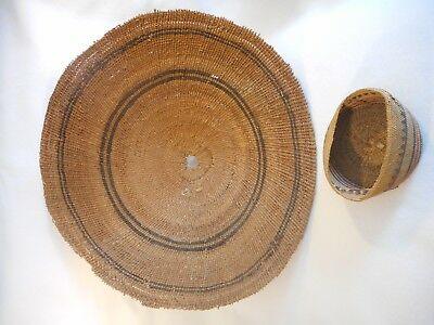 Large Native American Indian Basket from N. California, ca. Late 19th Century