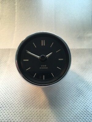 VDO Kienzle Car Clock. Repaired And Fully Working With 1 Years Guarantee.