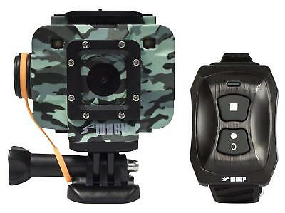 Waterproof WASP cam Camo Action Sports Camera wireless remote outdoor video Kit