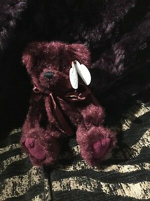 Ty Attic Collection Beargundy The Bear