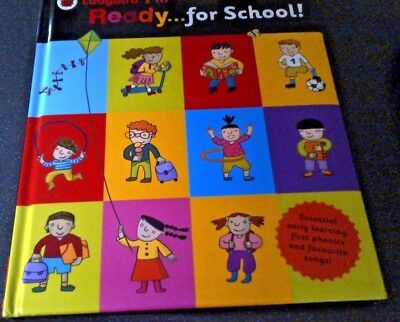 Ladybird I'm Ready for School! Hardback Book First Phonics and songs