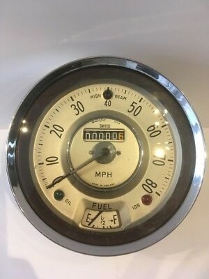 Classic Smiths Speedometer And Fuel Gauge Reconditioned With Guarantee