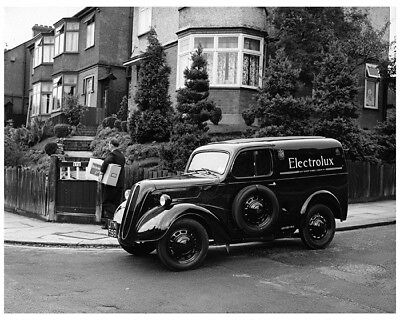 1949 Ford England Anglia 5cwt Electrolux Van Truck Factory Photo cb1960