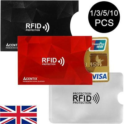 RFID Bank Card Sleeve Wallet Blocking Protector Debit Credit Contactless Holder