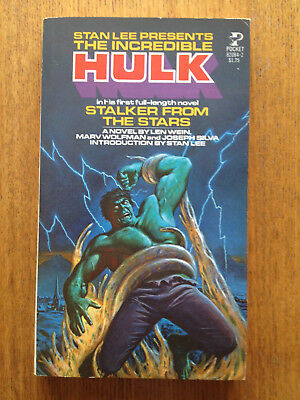 Marvel Novel Series # 2 - Incredible Hulk-Stalker From The Stars ( 1978 )