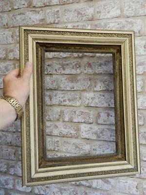 """REALLY OLD PICTURE FRAME  fits a 13 inch X 9"""" painting"""