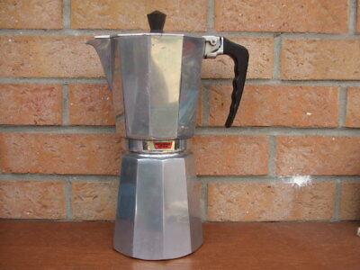 Grande cafetière italienne mokas 12 tasses Nogalux express made in Italy