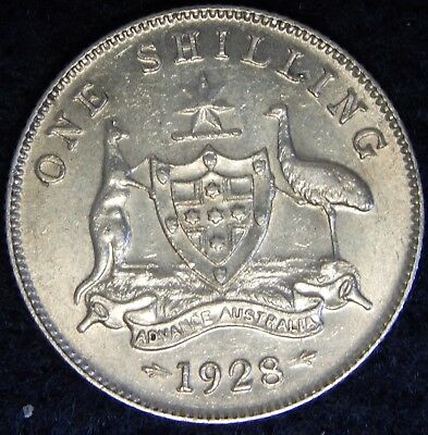 1928 - Australia - One Shilling - High Grade  ----- #234Z