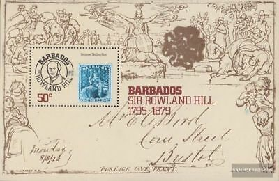barbados block12 (complete issue) unmounted mint / never hinged 1979 Hill