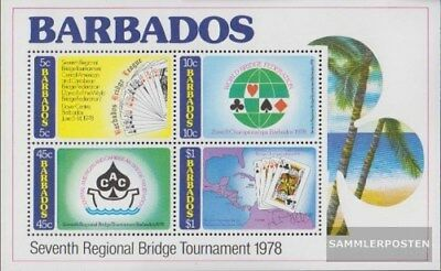 barbados block11 (complete issue) unmounted mint / never hinged 1978 bridge