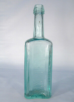 Thick Heavy Glass Rushton's Cod Liver Oil New York Earlier  Medicine Bottle