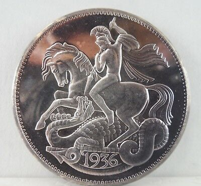 1936 - Edward VIII - Silver Crown - Proof - #575L