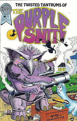 The Twisted Tantrums Of THE PURPLE SNIT #1  Oct 86