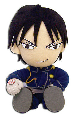 Fullmetal Alchemist Official Genuine Roy Sitting Doll Plush *NEW*