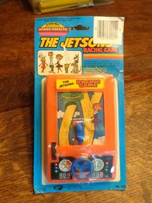 Vintage 1985 Gordy The Jetson's Racing Game Hanna Barbara Hand Held Nos In Pack