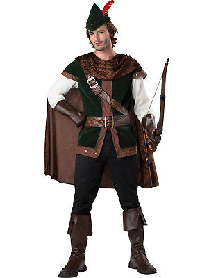 Robin Hood Medieval Warrior Prince Of Thieves Renaissance Adult Mens Costume