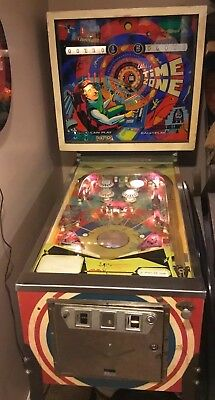 Vintage 1973 Time Zone Bally Pinball Machine WORKING! Local Pick Up Only