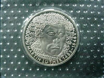 NobleSpirit NO RESERVE Desirable 1983 German Martin Luther 1483-1546 5 Mark Coin