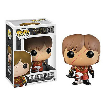 FUNKO POP GAME OF THRONES TYRION LANNISTER SCAR #21 In Battle Armor IN STOCK