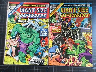 Marvel Giant-Size Defenders #1,2