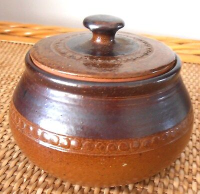 BENDIGO POTTERY SUGAR BOWL--STAMPED ON BASE Brand New