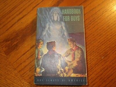 The Boy Scouts of America Handbook for Boys, Vintage 1951  V. Good+