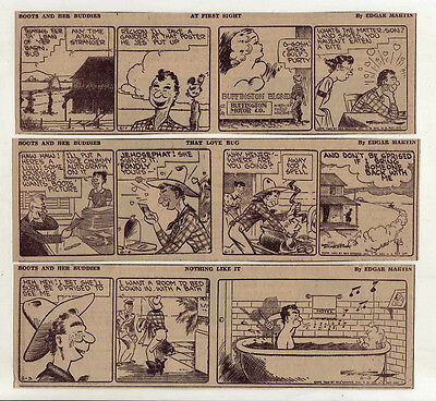 Boots & Her Buddies by Edgar Martin - 26 daily comic strips - Complete June 1943