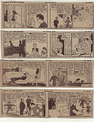 Boots & Her Buddies by Edgar Martin - 25 daily comic strips from November 1945