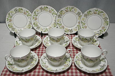 LOT of Ridgway MOSELLE: 6 Sets Cups and Saucers, 4 Bread and Butter Plates EXC!