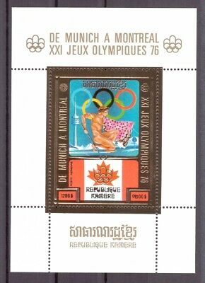 Khmere MiNr. Block 81 postfrisch/ MNH Olympia 1976 (Oly939