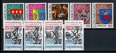 Luxembourg 2 X Sets Commemoratives  (35) Mint Never Hinged