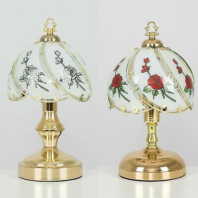 MiniSun Traditional Style Design Lounge Bedside Touch Table Lamp LED Light Bulb