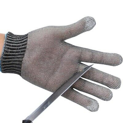 Stainless Steel Metal Mesh Butcher Knife Safety Cut Proof Stab Resistant Glove