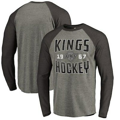 Los Angeles Kings Fanatics Branded Timeless Collection Antique Stack Tri-Blend