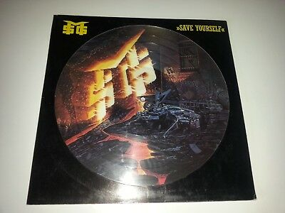 MSG McAuley Schenker Group - Save Yourself - Rare PICTURE LP 1989 *EXCELLENT*