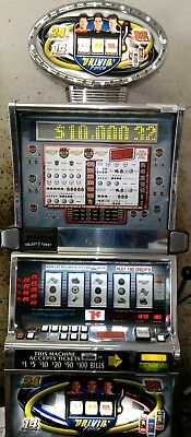 IGT S2000 Progressive NASCAR Drivin' Force slot machine with 3 retired drives