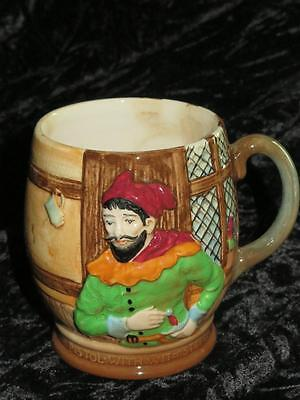 COLLECTABLE VINTAGE BESWICK MUG 1127 Shakespeare Merry Wives of Windsor PISTOL
