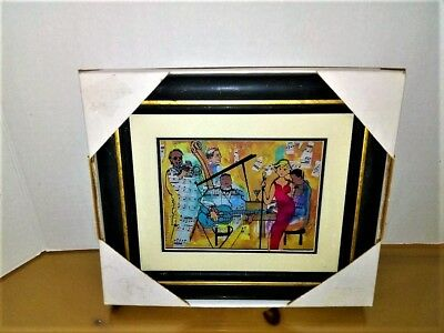 Jean-Pierre Weill Studios Vitreography Hand Crafted 3-D  WALL ART - NICE