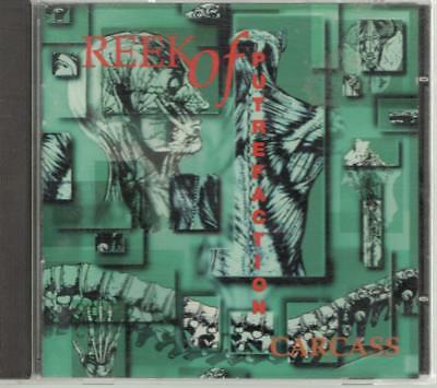 Carcass: Reek Of Putrefaction, 22 Track CD