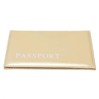 Passport Travel PU Leather Organizer Card Holder Case Protector Cover Wallet Q