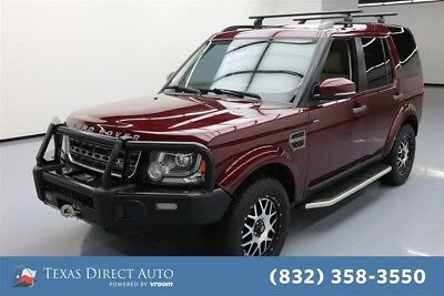 Land Rover LR4 HSE Texas Direct Auto 2016 HSE Used 3L V6 24V Automatic 4WD SUV Premium