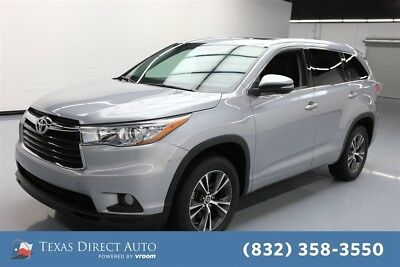 Toyota Highlander XLE Texas Direct Auto 2016 XLE Used 3.5L V6 24V Automatic FWD SUV Moonroof