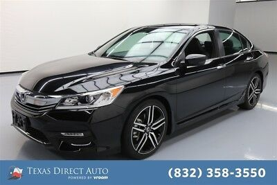 Honda Accord Sport Texas Direct Auto 2016 Sport Used 2.4L I4 16V Automatic FWD Sedan
