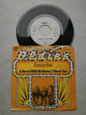 Single - America - A horse with no name / I need you - Beat 60er Jahre