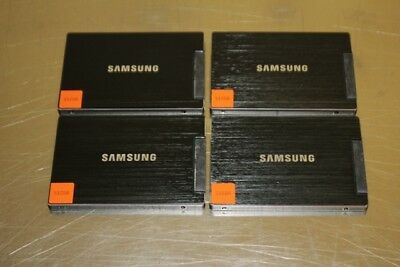 """LOT OF 4 Samsung 830 Series 2.5"""" 512GB SSD Solid State Hard Drives 100% HEALTH"""